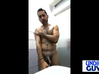 Shower Joshing Unconnected With Undie Guy