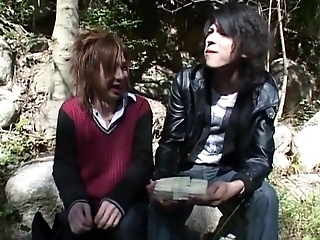 Crazy Asian Of A Male Effeminate Dudes Around Breathtaking Rimming, Twinks Jav Clip